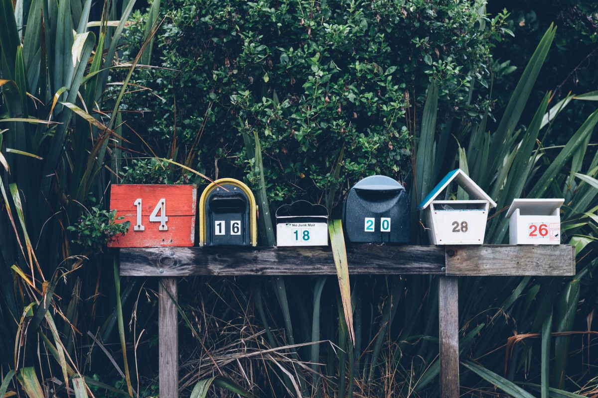 The mailbox isn't dead, it just took a vacation…